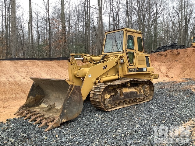 1987 Cat 963 Crawler Loader, Crawler Loader