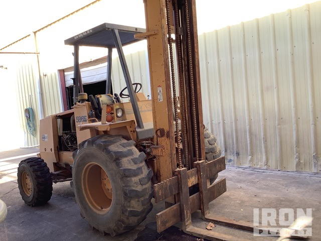 Case 586E 4x4 Rough Terrain Forklift, Rough Terrain Forklift