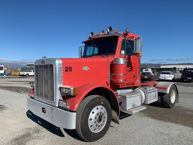 1995 Peterbilt 379 4x2 S/A Day Cab Truck Tractor