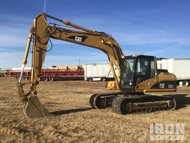 2005 Cat 315CL Track Excavator, Hydraulic Excavator
