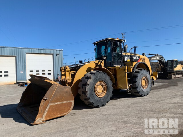 2012 Cat 980K Wheel Loader, Wheel Loader