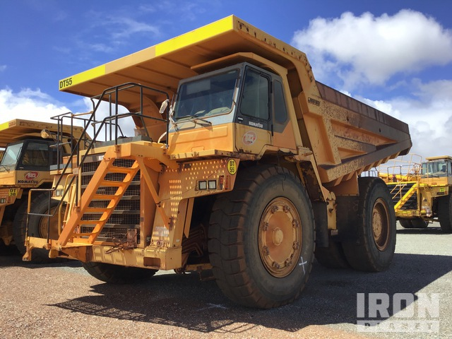 2006 Komatsu HD785-5 Off-Road End Dump Truck, Rock Truck