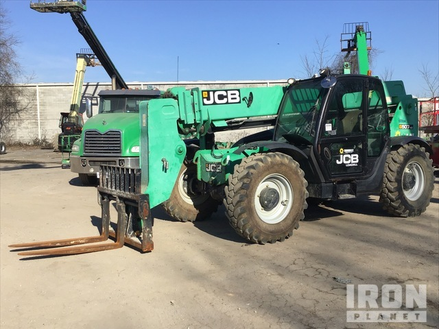 2013 (unverified) JCB 507-42 4x4 7000 lb Telehandler, Telescopic Forklift