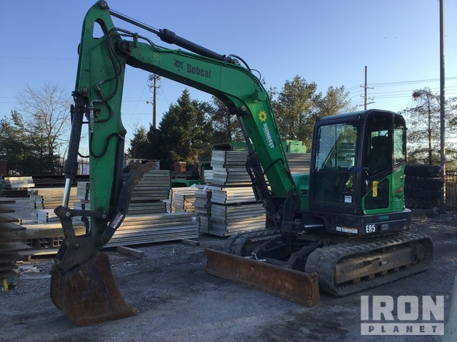 2014 Bobcat E85 Mini Excavator, Mini Excavator (1 - 4.9 Tons)