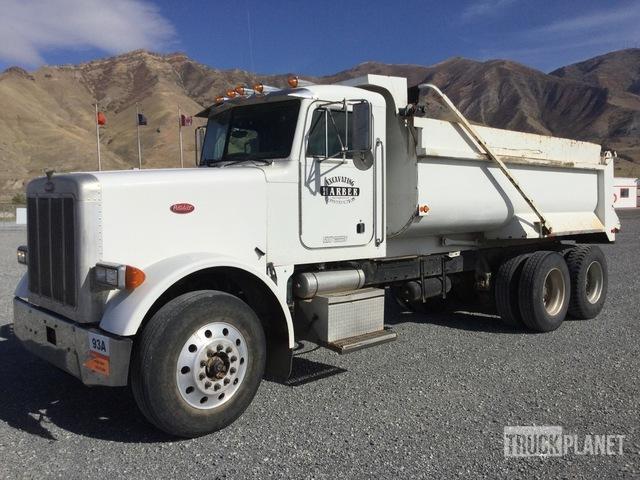 1998 Peterbilt 378 T/A Dump Truck, Dump Truck (T/A)