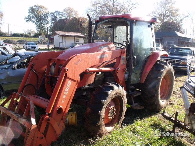 2006 (unverified) Kubota M8540HDC 4WD Tractor, MFWD Tractor