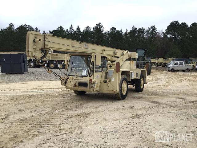 Terex LRT-110 Rough Terrain Crane, Rough Terrain Crane