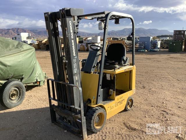 Doosan / Daewoo BC20SC Electric Forklift, Electric Forklift