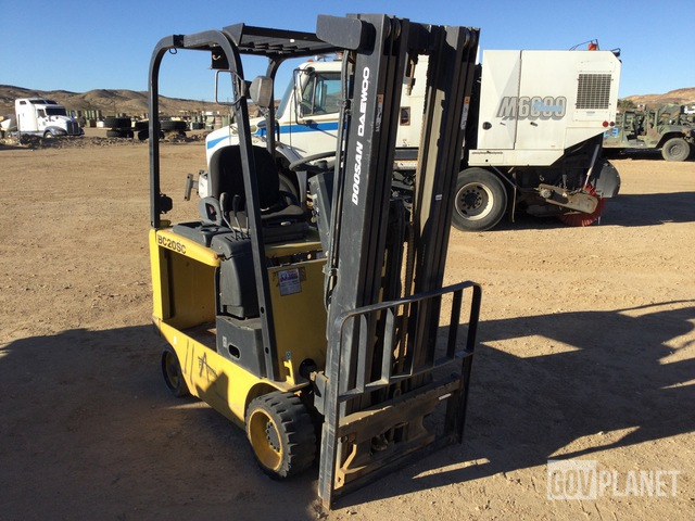 Doosan-Daewoo BC20SC Electric Forklift, Electric Forklift