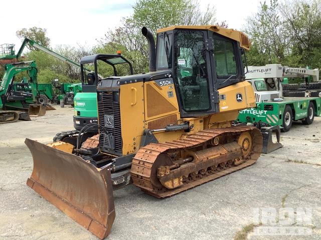 2013 John Deere 550K XLT Crawler Dozer, Crawler Tractor