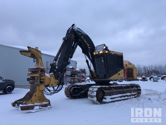 2005 Tiger Cat 870C Wheel Feller Buncher, Feller Buncher