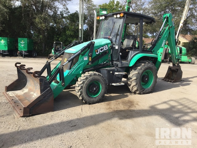 2017 (unverified) JCB 3CX Backhoe Loader, Loader Backhoe