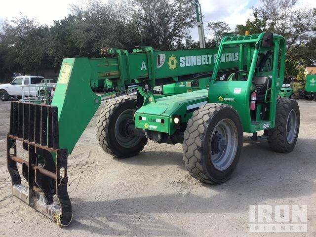 2014 JLG 6042 4x4x4 6000 lb Telehandler, Telescopic Forklift