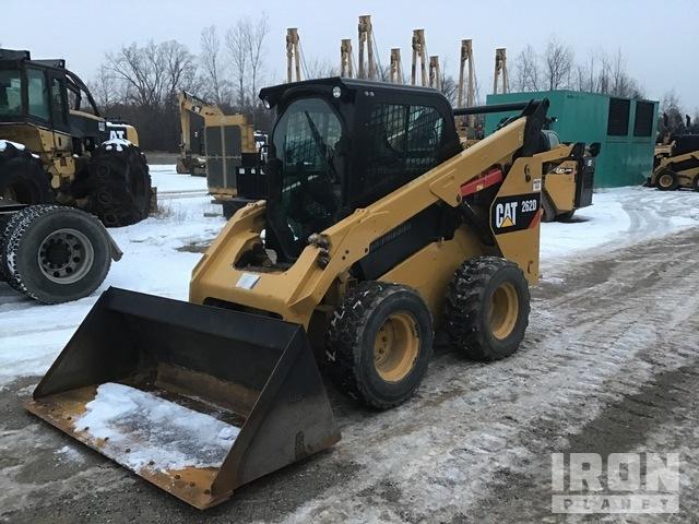 2018 Cat 262D Skid Steer Loader, Skid Steer Loader