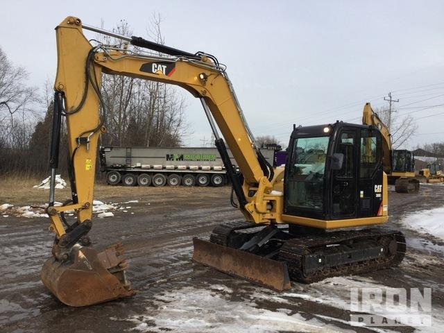 2017 Cat 308E2 CR Track Excavator, Hydraulic Excavator