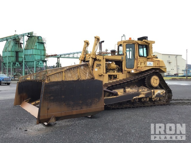 Cat D8N Crawler Dozer, Crawler Tractor