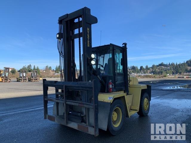 Hyster H210XL2 17500 lb Rough Terrain Forklift, Rough Terrain Forklift