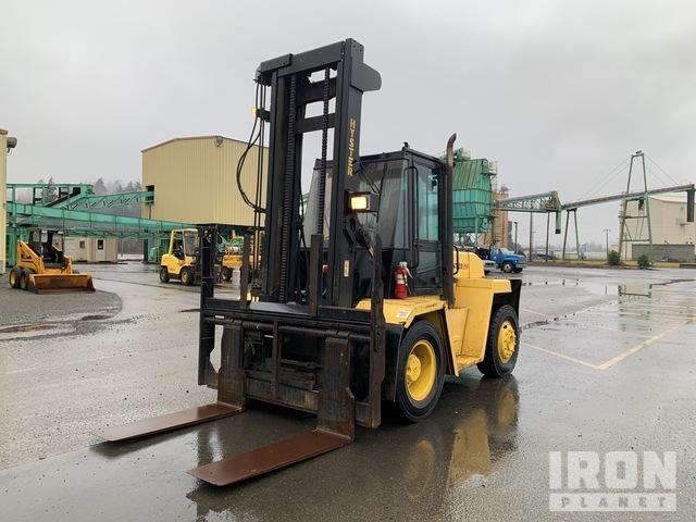 Hyster H210XL 17500 lb Pneumatic Tire Forklift, Forklift