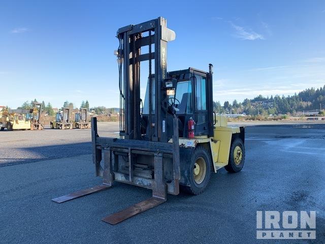 Hyster H210XL 15,900 lb Pneumatic Tire Forklift, Forklift