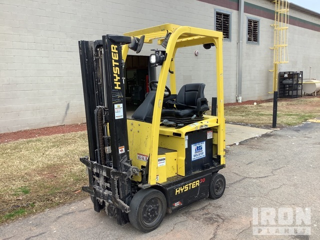 2015 Hyster E30XN 3000 lb Electric Forklift, Electric Forklift