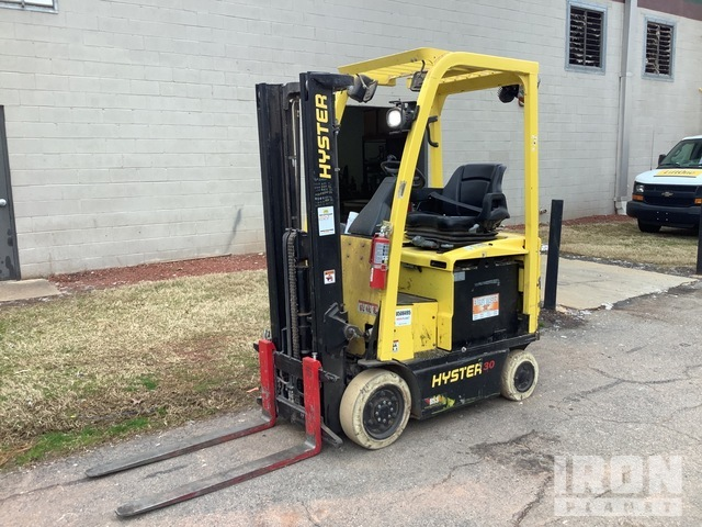 2015 Hyster E30XN 1900 lb Electric Forklift, Electric Forklift