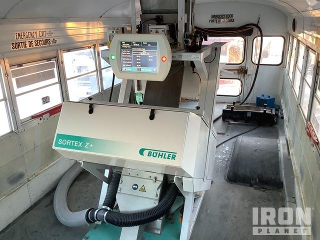 Buhler Storex Z+ 1VV 2 Hopper Color Sorter w/2000 GMC Bus, Grain Handling - Other