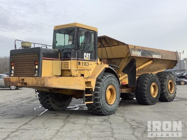 1999 Cat D400E 6x6 Articulated Dump Truck, Articulated Dump Truck