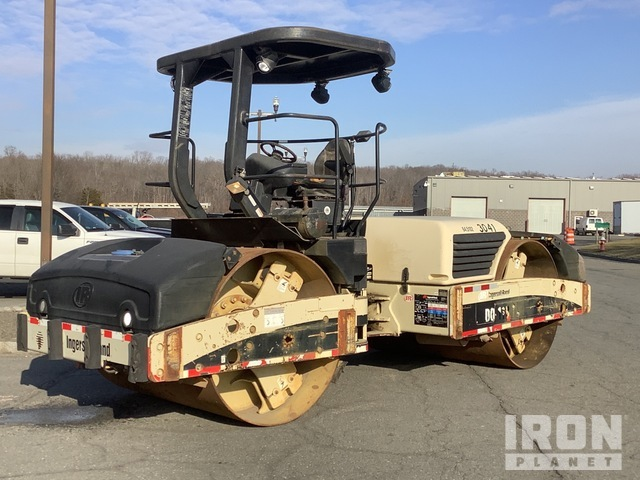 2005 Ingersoll-Rand DD118HF Vibratory Double Drum Roller, Tandem Roller