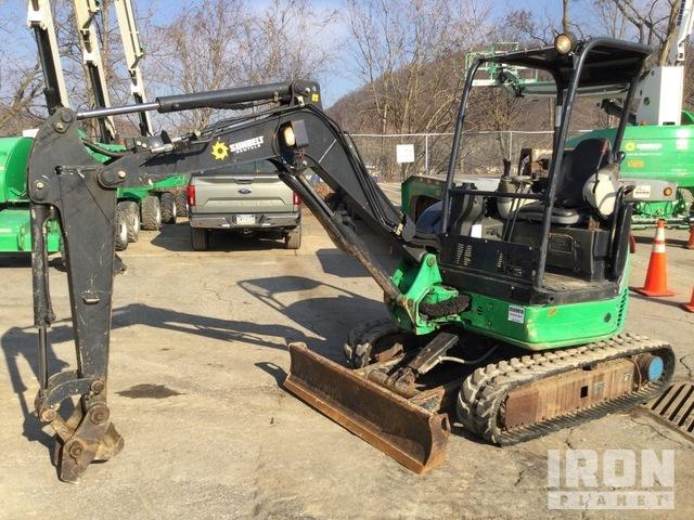 2014 John Deere 27D Mini Excavator, Mini Excavator (1 - 4.9 Tons)