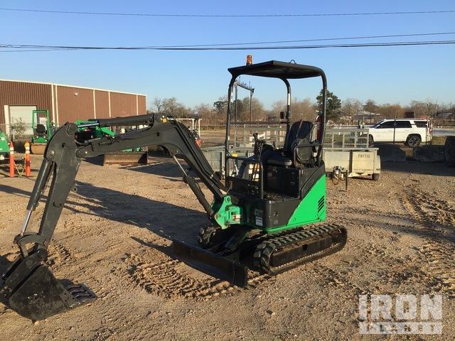 2014 John Deere 17D Mini Excavator, Mini Excavator (1 - 4.9 Tons)