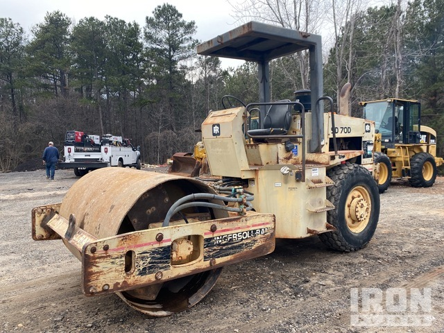 Ingersoll-Rand SD-70D Vibratory Single Drum Compactor, Vibratory Padfoot Compactor