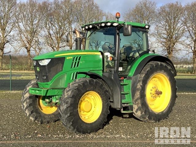 2014 John Deere 6210R 4WD Tractor, MFWD Tractor