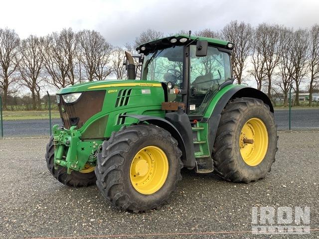 2013 John Deere 6190R 4WD Tractor, MFWD Tractor