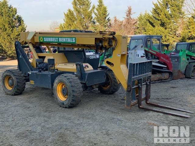 2013 Gehl RS6-34 4x4 6000 lb Telehandler, Telescopic Forklift