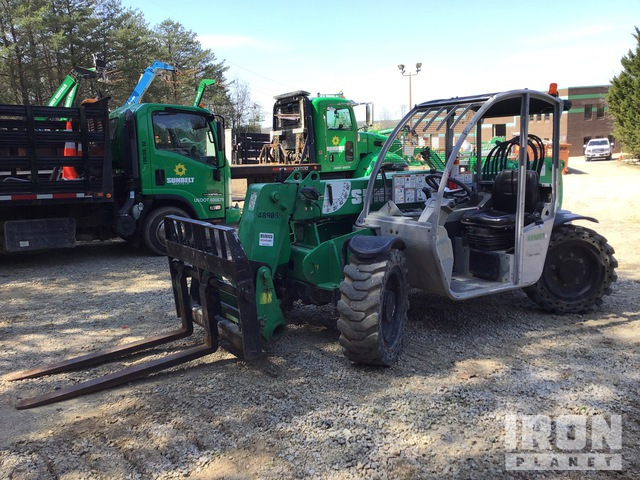 2012 Genie GTH-5519 4x4 5500 lb Telehandler, Telescopic Forklift