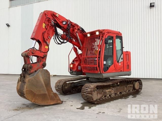 2016 Hitachi ZX135US-5B Tunnelling Track Excavator, Hydraulic Excavator