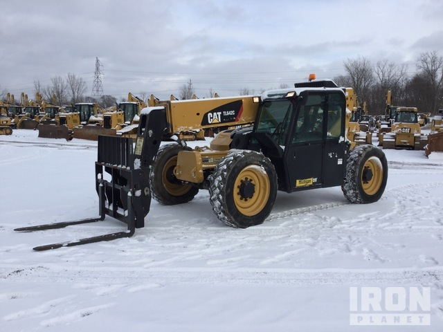 2014 (unverified) Cat TL642C 4x4 6600 lb Telehandler, Telescopic Forklift