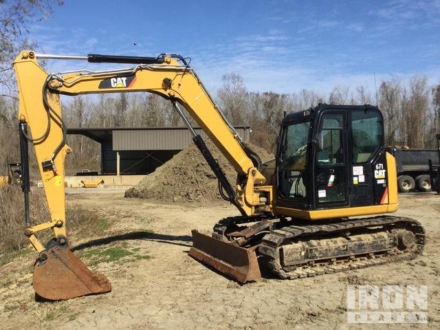 2016 (unverified) Cat 308E2 CR Track Excavator, Hydraulic Excavator