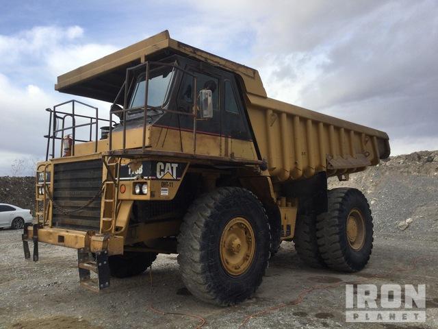 1983 Cat 773 Off-Road End Dump Truck, Rock Truck