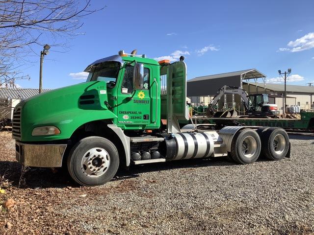 2012 Mack CXU613 6x4 T/A Day Cab Truck Tractor