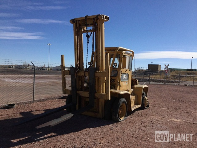 Yale G3P-165 MA S Pneumatic Tire Forklift, Forklift