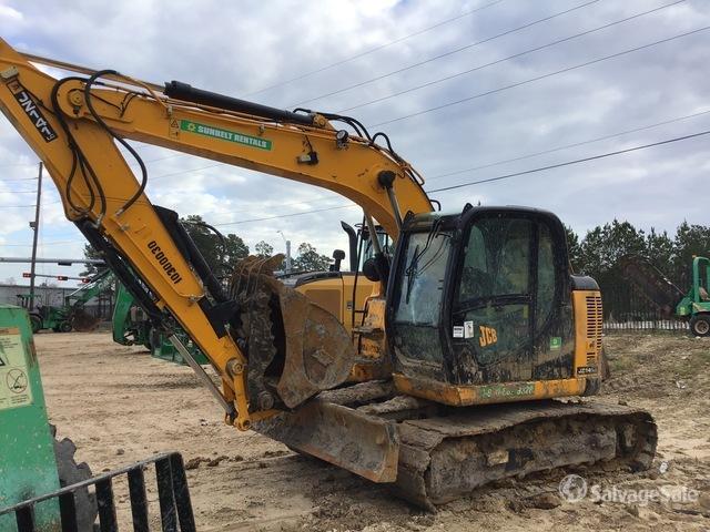 2020 (unverified) JCB JZ141LCDAF Track Excavator, Hydraulic Excavator