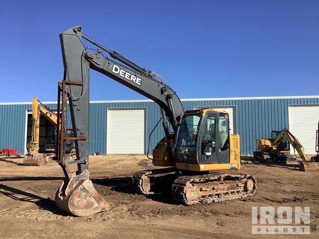 2014 John Deere 135G Track Excavator, Hydraulic Excavator