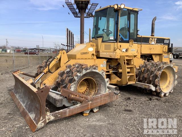 2001 Cat 815F Soil Compactor, Compactor
