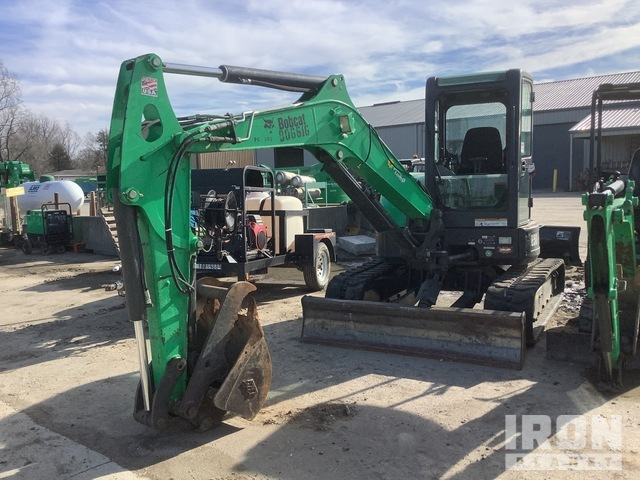 2015 Bobcat E50 Mini Excavator, Parts/Stationary Construction-Other