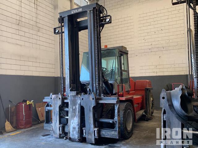 2012 Kalmar DCE 160-12 16 Ton Pneumatic Tire Forklift - Inoperable, Forklift