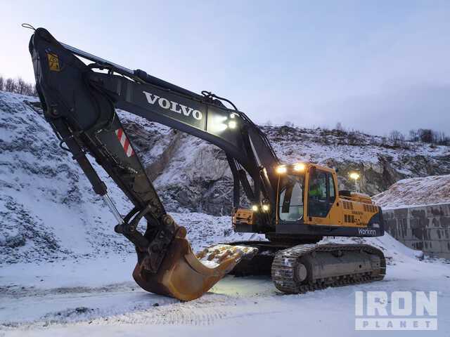 2007 Volvo EC460BLC Track Excavator, Hydraulic Excavator