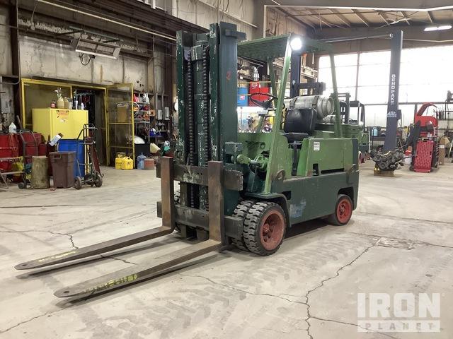 1978 (unverified) Clark  10000 lb Pneumatic Tire Forklift, Forklift