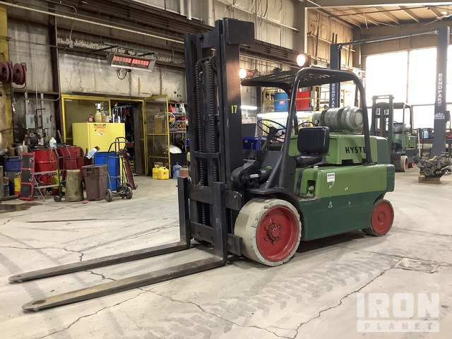 1960 (unverified) Hyster S150A 15000 lb Pneumatic Tire Forklift, Forklift