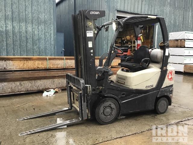 2011 (unverified) Crown C-5 1000-50 Cushion Tire Forklift, Forklift